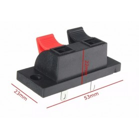 NedRo - Terminal Block Wire Cable Clip For LED Single Color Strip - LED connectors - AL325 www.NedRo.nl