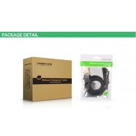UGREEN - Cablu Audio Cannon XLR Mamă la Tată de 6.35mm - Cabluri audio - UG225-CB www.NedRo.ro