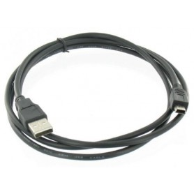 USB 2.0 Male naar Mini USB 5-Polig Male Kabel 1.8m