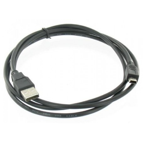NedRo - USB 2.0 Male naar Mini USB 5-Polig Male Kabel 1.8m - Foto-video kabels en Adapters - YPU304 www.NedRo.nl