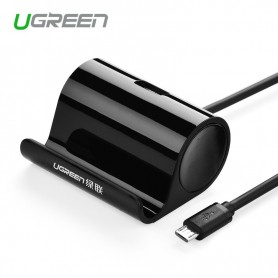 UGREEN - Micro USB OTG Cable Adapter with Cradle 50cm - USB to Micro USB cables - UG242 www.NedRo.us
