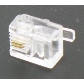 Oem - 10 x RJ11 6P2C Modular Plug 49875 - Network adapters - 49875
