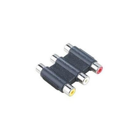 Unbranded, Tulip 3.3 Adaptor RCA Composite Audio Video RCA 6306, Adaptoare audio, 6306, EtronixCenter.com