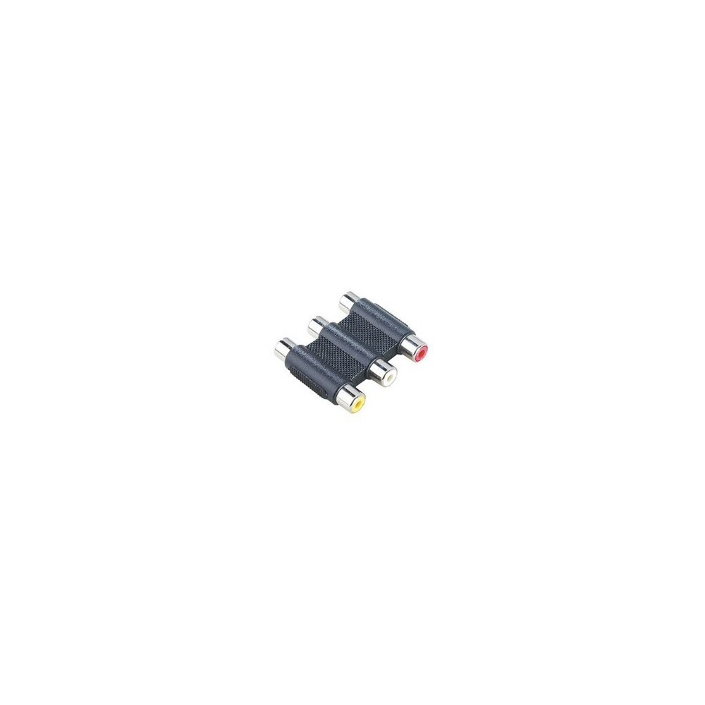 Unbranded - Tulip 3.3 Adapter RCA Composite Audio Video RCA 6306 - Audio adapters - 6306 www.NedRo.de