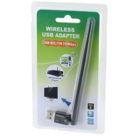 Wifi 150Mbps Ultra Mini Adapter met Externe Antenne YNW039