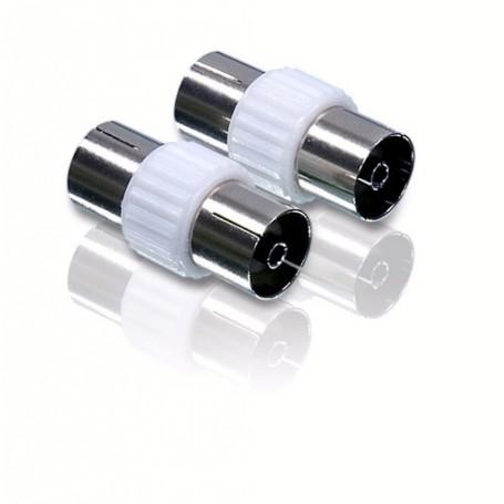 NedRo, Philips Coax Verleng PAL-Doorvoeraansluitingen YAK044, S-VHS kabels, YAK044, EtronixCenter.com