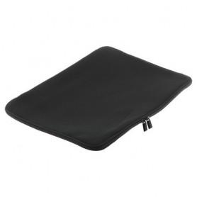 Neopreen tas met rits voor Notebooks tot 15,6 inch zwart