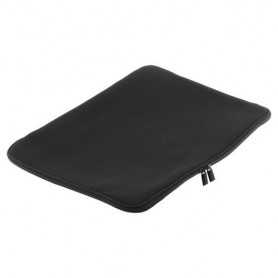 Notebook Neoprene Bag with zipper up to 15,6 inch black
