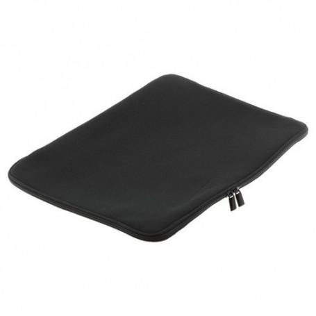 NedRo - Neopreen tas met rits voor Notebooks tot 15,6 inch zwart - Overige laptop accessoires - ON017 www.NedRo.nl