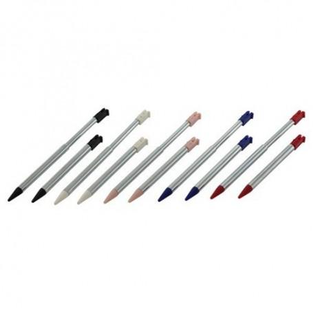unbranded - 10 pcs stylus for Nintendo 3DS metal Telescope type ON027 - Nintendo 3DS - ON027