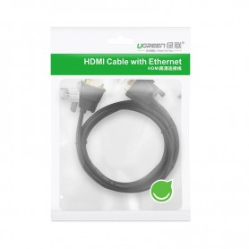 UGREEN - 2M DB9 to DB9 RS232 COM to COM Male to Female cable UG312 - RS 232 RS232 adapters - UG312 www.NedRo.nl