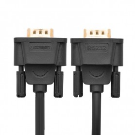 UGREEN - 3M DB9 to DB9 RS232 COM to COM Male to Female cable UG313 - RS 232 RS232 adapters - UG313 www.NedRo.nl