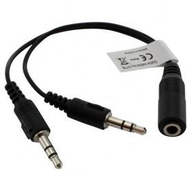 3.5mm Audio Jack Splitter Adaptor Distribuitor (2xM-1xF)