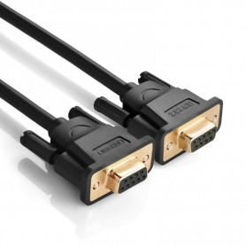 UGREEN - DB9 to DB9 RS232 COM-COM Female to Female cable - RS 232 RS232 adapters - UG318 www.NedRo.us