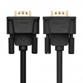 UGREEN, DB9 naar DB9 RS232 Female naar Female kabel, RS 232 RS232 adapters, UG315-CB, EtronixCenter.com