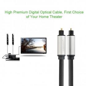 UGREEN - Toslink Optical Audio Professional Cable Aluminum Case - Audio kabels - UG319 www.NedRo.nl