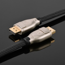 UGREEN - DisplayPort Male to Male 4K 3D Nylon Braid Professional - Displayport and DVI cables - UG322-CB www.NedRo.us