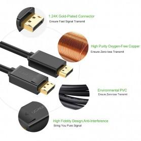 UGREEN - Displayport DP Male naar Displayport Male Kabel - Displayport en DVI kabels - UG203 www.NedRo.nl