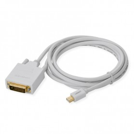 UGREEN - Mini Displayport DP to DVI 24+1 Cable Adapter - DVI and DisplayPort adapters - UG346-CB www.NedRo.us