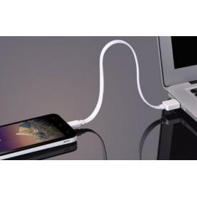 UGREEN - 0.5M Flat USB to Micro USB Cable White UG352 - USB naar Micro USB kabels - UG352 www.NedRo.nl
