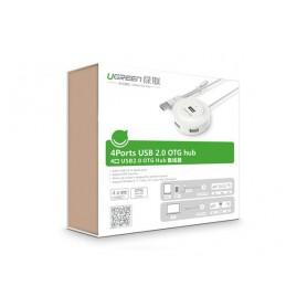 UGREEN - USB 2.0 Hub 4 Ports with OTG Function - Porturi si huburi - UG353 www.NedRo.ro