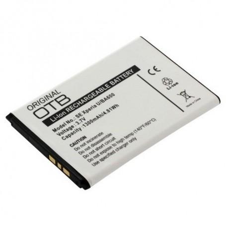 NedRo, Accu voor Sony BA600 1300mAh Li-Ion ON099, Sony-Ericsson telefoonaccu's, ON099, EtronixCenter.com