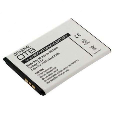 unbranded, Battery for Sony BA600 1300mAh Li-Ion ON099, Sony phone batteries, ON099