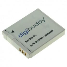 digibuddy - Accu voor Canon NB-6L 1000mAh - Canon foto-video batterijen - ON2671-C www.NedRo.nl