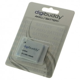 digibuddy - Battery for Canon NB-6L 1000mAh - Canon photo-video batteries - ON2671-C www.NedRo.us