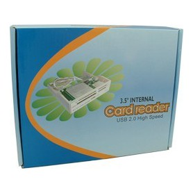 NedRo, ALLin1 3,5 Grey Panel Cardreader YPP006, DVD CDR and readers, YPP006, EtronixCenter.com