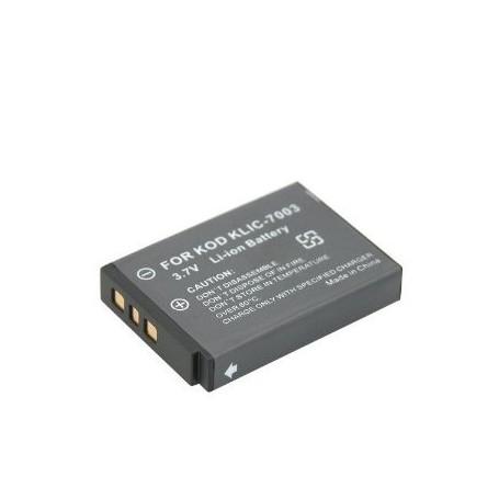 NedRo - Battery for Kodak KLIC-7003, KLIC7003, 3.7V V120 - Kodak photo-video batteries - V120 www.NedRo.us