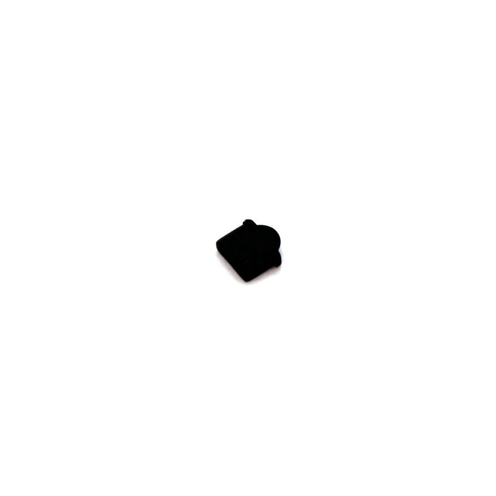 NedRo - Stofkap voor Micro-HDMI-connector (Type D) zwart ON136 - HDMI adapters - ON136 www.NedRo.nl