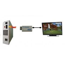 NedRo - Adaptor convertor consola Nintendo Wii la Hdmi Cu 3.5mm audio output 1080p - Nintendo Wii - AL090-CB www.NedRo.ro