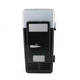 NedRo - Draagbaar USB Mini Koelkast Voor 1 Blikje Zwart - Computer gadgets - YPU801-1-C www.NedRo.nl