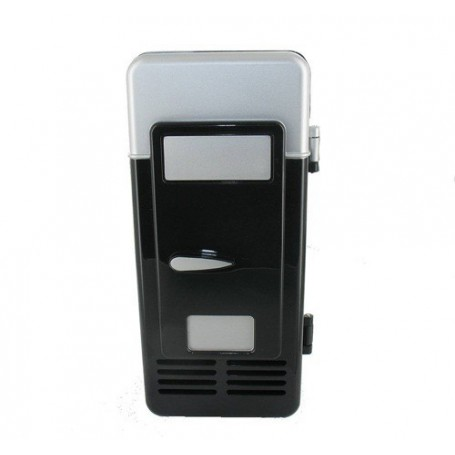 NedRo - Draagbaar USB Mini Koelkast Voor 1 Blikje Zwart - Computer gadgets - YPU801-1 www.NedRo.nl