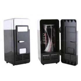 NedRo - Mini frigider negru si gri pentru birou cu alimentare USB - Gadget-uri computer - YPU801-1 www.NedRo.ro