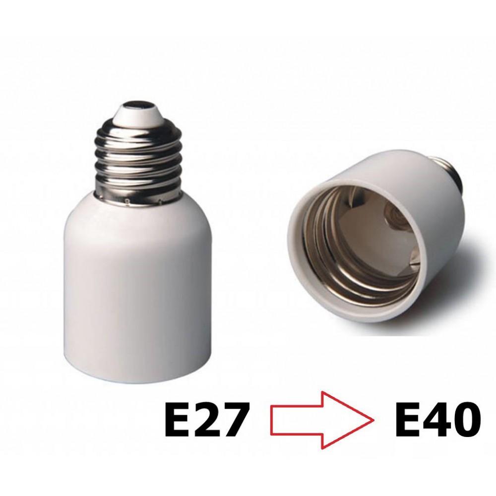 E27 naar E40 Fitting Omvormer 06087