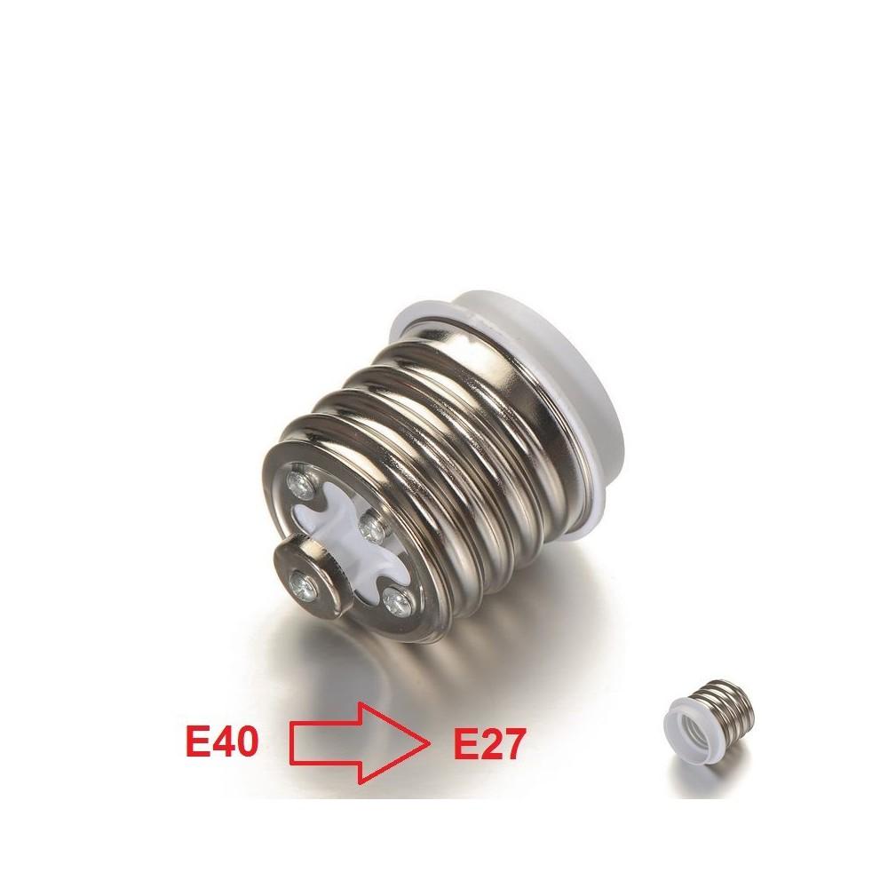 E40 naar E27 Fitting Omvormer AL694