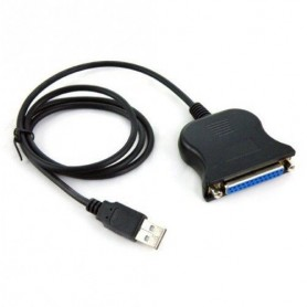 NedRo - USB to Parallel 25 pin DB25 Printer Cable - Printer cables - YPU114 www.NedRo.us