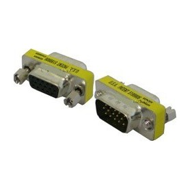 VGA Male naar Female adapter YPC204