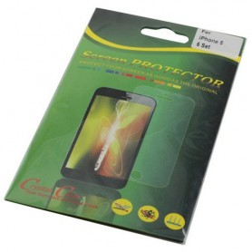 6 sets Screen Protectors for iPhone 5 - 5S Front + Back