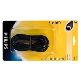 PHILIPS, Philips S-video Kabel 3.0 m YAK048, S-VHS kabels, YAK048, EtronixCenter.com