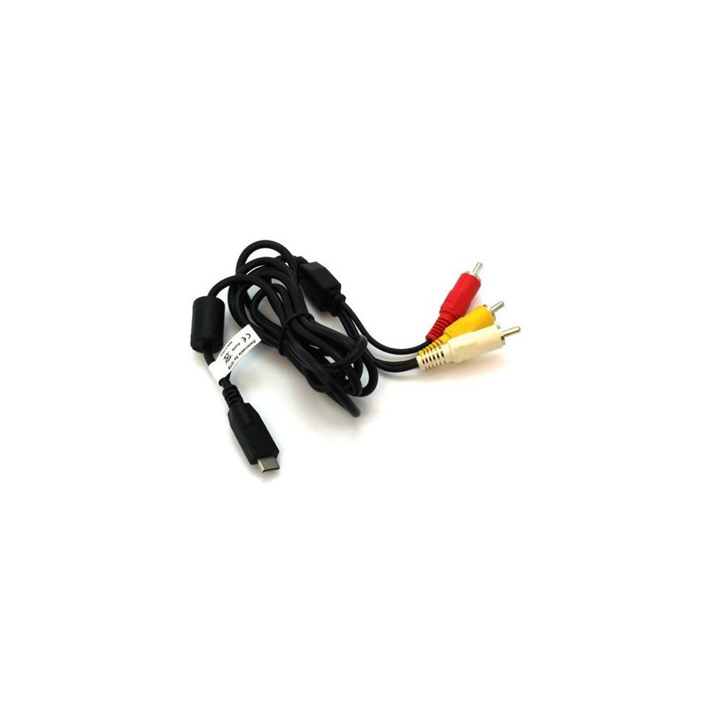 Composiet Video kabel compatible met Panasonic Lumix K1HA14CD0001