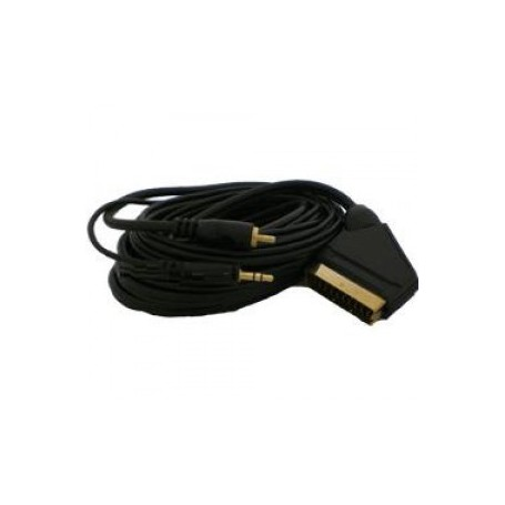 unbranded, HAMA PC - TV DVD Scart kabel 5M Cable YAK011, Scart cables, YAK011