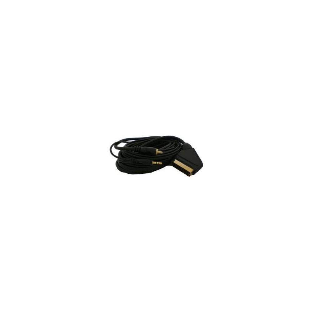 HAMA PC - TV DVD Scart kabel 5m. Cable YAK011