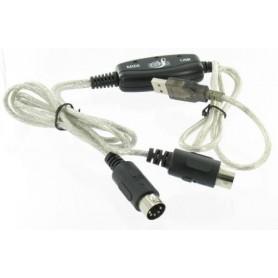 Cablu MIDI, USB - MIDI Keyboard Interface Converter Cable