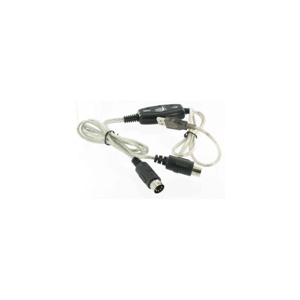 NedRo - USB - MIDI Keyboard Interface Converter Cable YPU115 - Audio adapterek - YPU115-C www.NedRo.hu