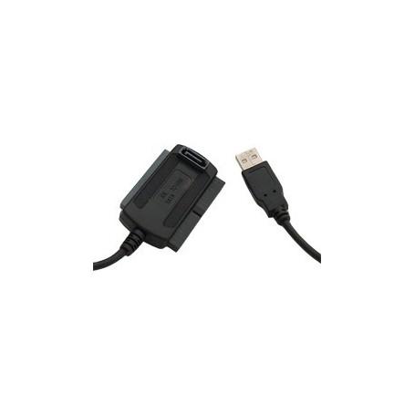 NedRo - USB 2.0 IDE + SATA Kabel converter - SATA en ATA adapters - YPU102 www.NedRo.nl