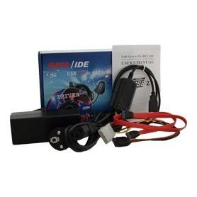 NedRo - USB 2.0 IDE + SATA Kabel converter YPU102 - SATA en ATA adapters - YPU102 www.NedRo.nl
