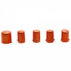 NedRo, Xbox 360 Replacement Controller 5x Set Plating Orange TM131, Accesorii Xbox 360, TM131, EtronixCenter.com
